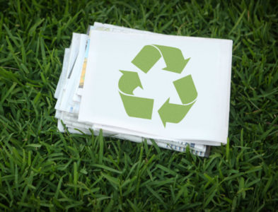 New way of Paper Recycling